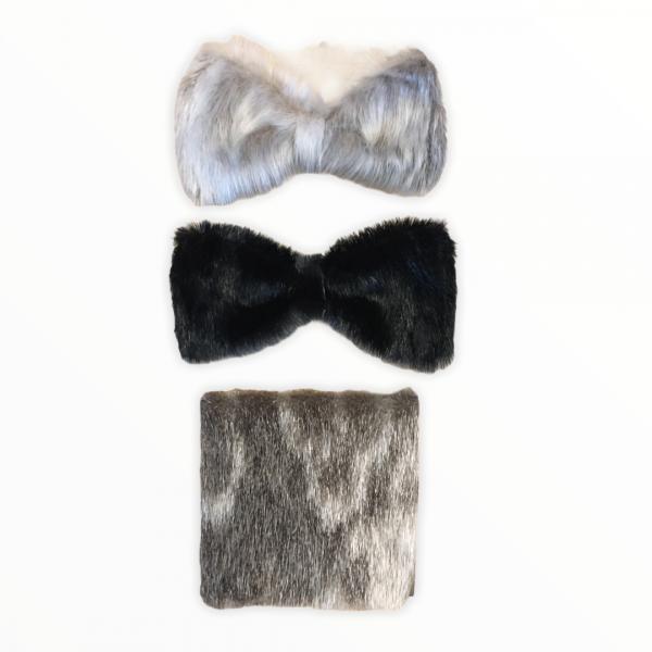 Seal Fur & Seal Skin Product BowtieSet_FrontView_AprilPigalak