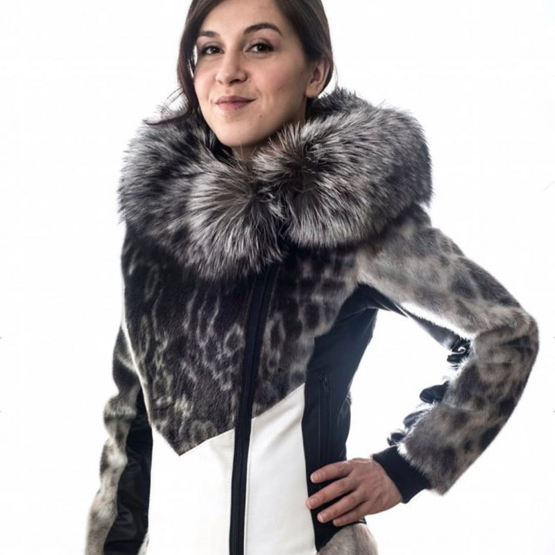 Seal Fur & Seal Skin Products Victoria Arctic Fashion Seal Parka