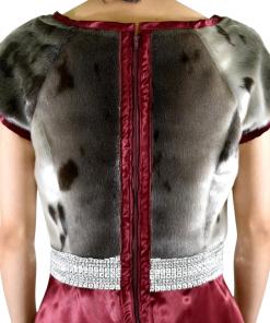 Seal Fur Evening Dress _MayNingeongan_UjaraatsiaqsGarments_UniqueItem_03