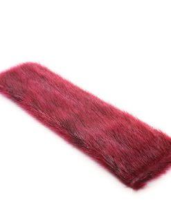 Seal skin Snap Bracelet _Cheryl Fennel_Snowfly_ Cranberry _02