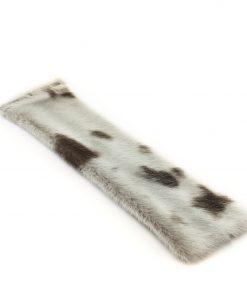 Seal skin Snap Bracelet _Cheryl Fennel_Snowfly_ Natural spots_04