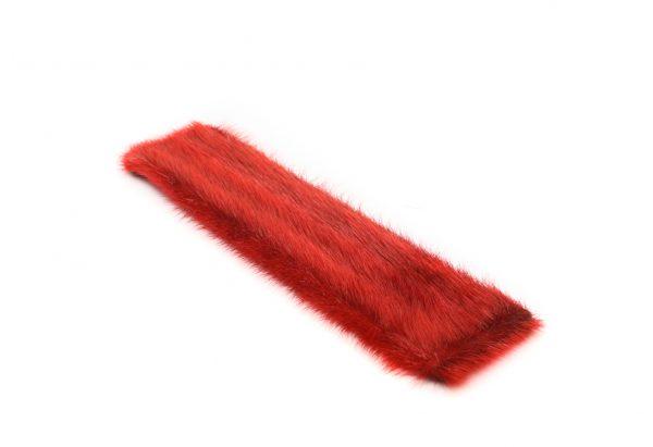 Seal skin Snap Bracelet _Cheryl Fennel_Snowfly_ bright red _02