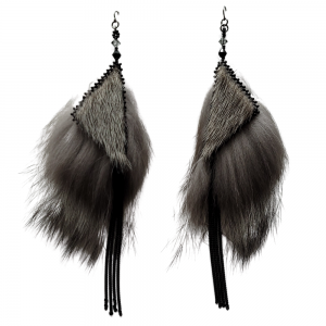 Natural Sealskin Silver Fox_Taalrumiq_Christina King_01