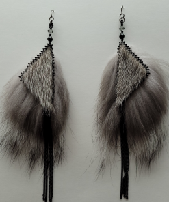 Natural Sealskin Silver Fox_Taalrumiq_Christina King_04