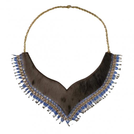 Whale Tail Sealskin Necklace_Alook_Design by Alookie Korgak (1)